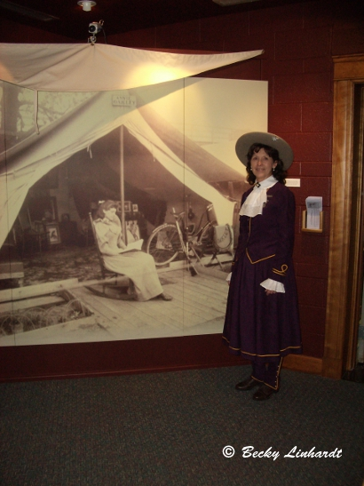 annie oakley center at the garst museum � greenville